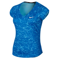 NIKE PURE TOP SHORT SLEEVE PRINT