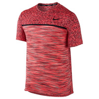 NIKE COURT DRY CHALLENGER TOP SHORT SLEEVE
