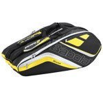 Teniso krepšys BABOLAT RACKET HOLDER TEAM X12 yellow / 751120-113
